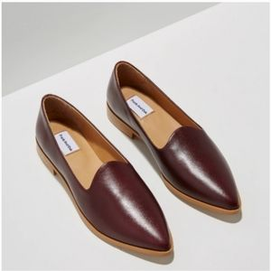Frank and Oak leather loafers